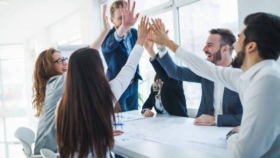HR team in a meeting