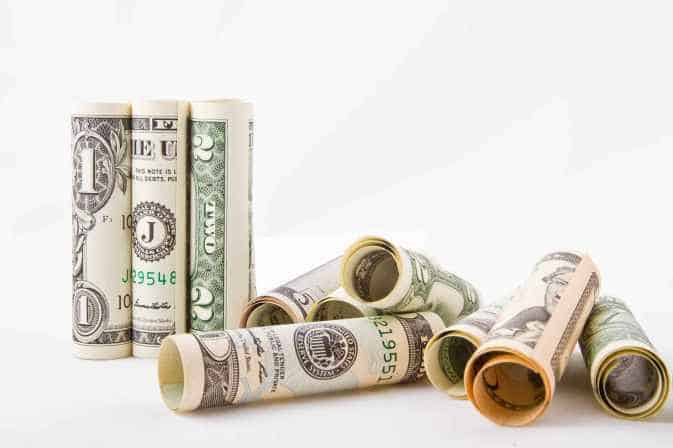 Rapid deployment solution - Rolled up currency notes