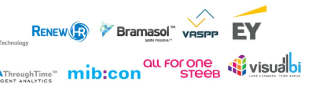 SAP Analytics Cloud - Various company logos