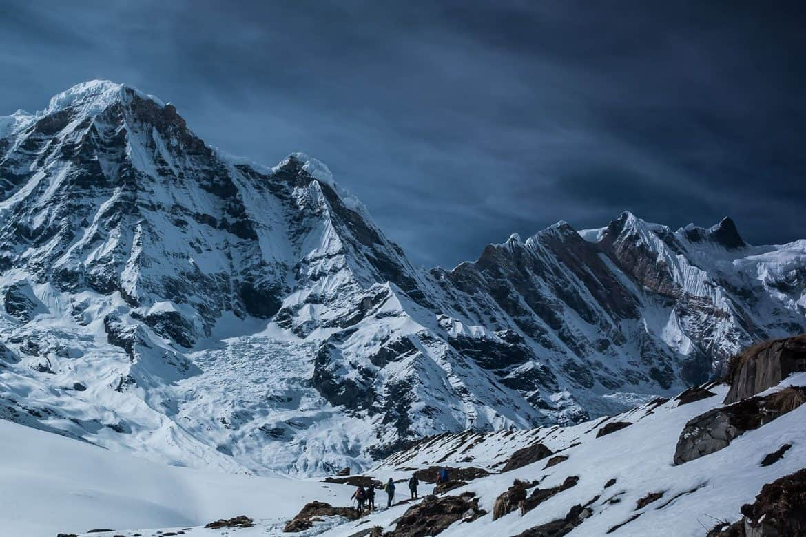 Rapid deployment solutions - Image of a snow capped mountain