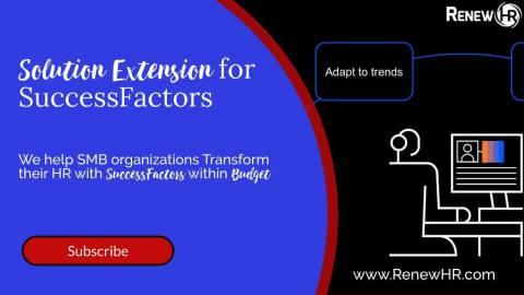 Renew HR Official Workspace 5 Extension Services W BTP